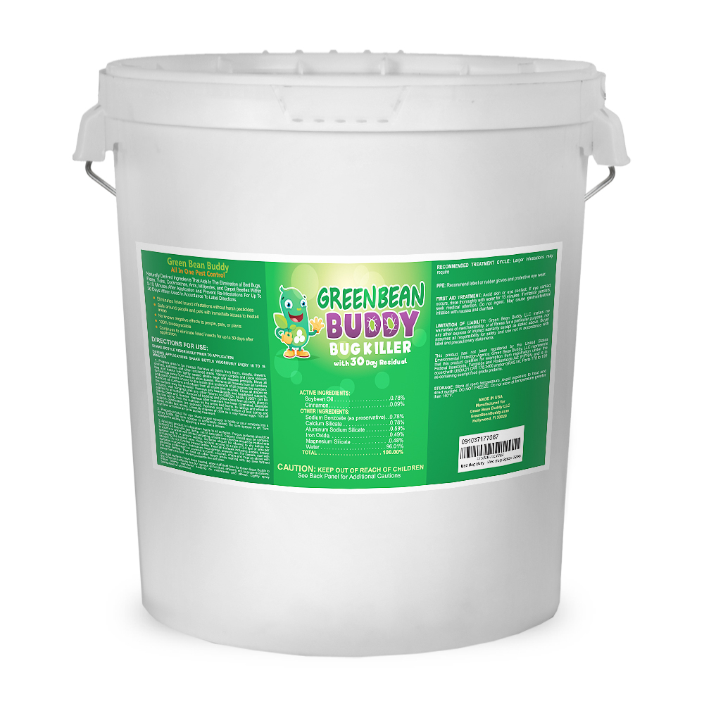Green Bean Buddy bed bug killer 5 Gallon