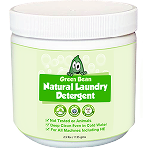 Green Bean Natural Laundry Detergent 2.5LB