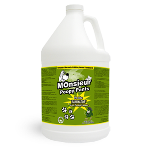 Monsieur Poopy Pants – Pet Odor Removal 1 Gallon