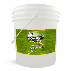 Monsieur Poopy Pants – Pet Odor Removal 5 Gallon
