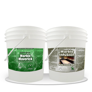 Marble Maverick – 2-in-1 Marble Care Kit 5 Gallon