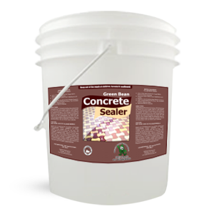 Green Bean Concrete Sealer 5 Gallon