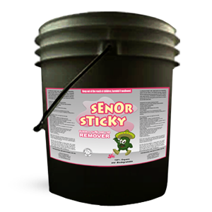 Senor Sticky: Gum and Tar Cleaner 5 Gallon