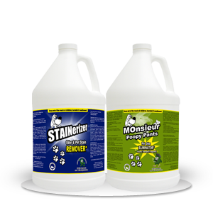 Stainerizer – Non-Toxic Pet Stain and Odor Remover Kit 1 Gallon