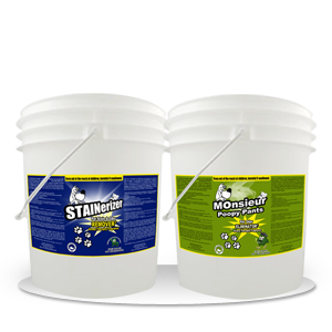 Stainerizer – Non-Toxic Pet Stain and Odor Remover Kit 5 Gallon
