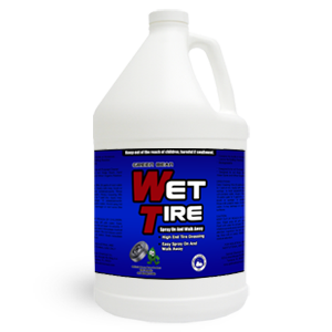 Wet Tire –  Tire Shine and Gloss 1 Gallon