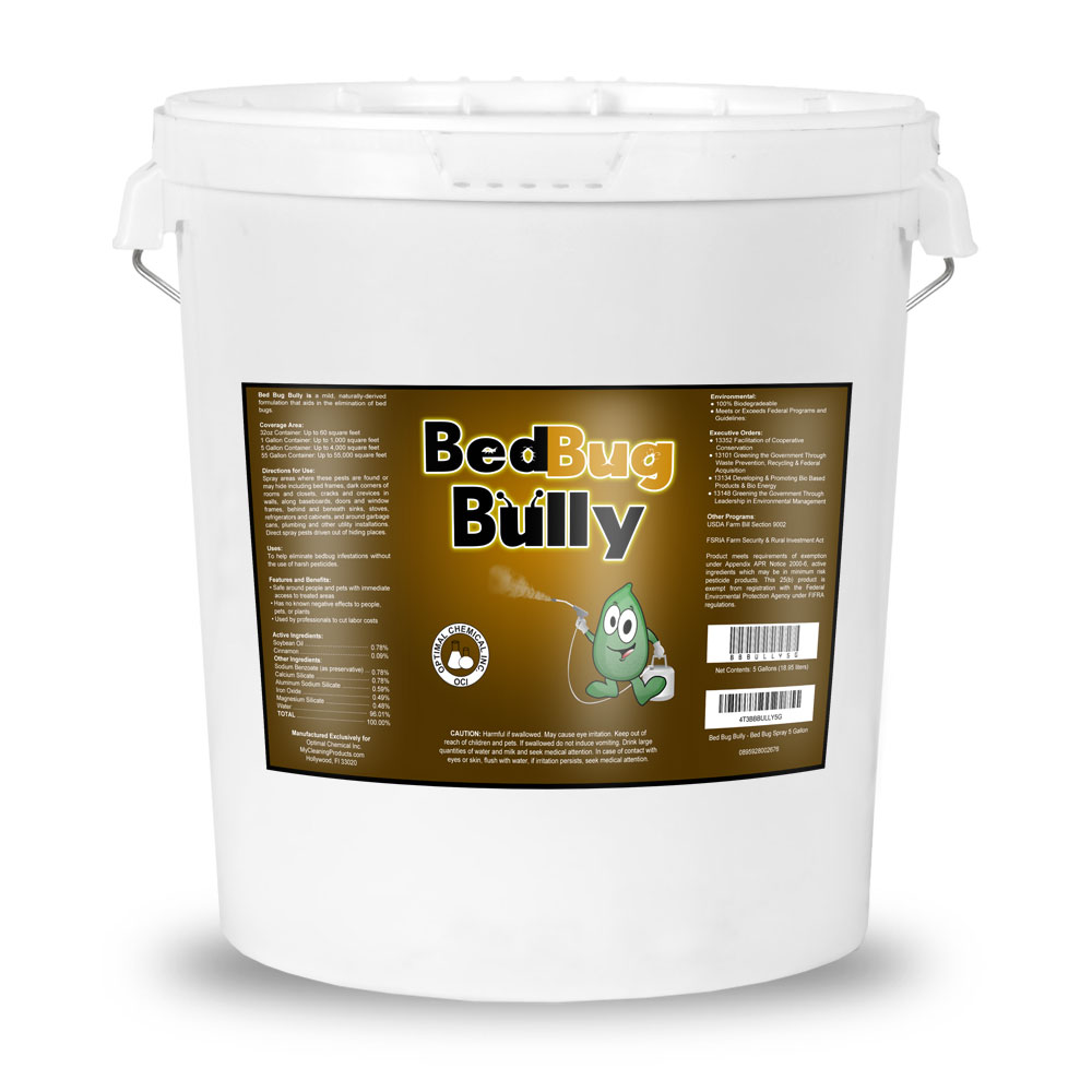 Bed Bug Bully, 5 Gallon Pail