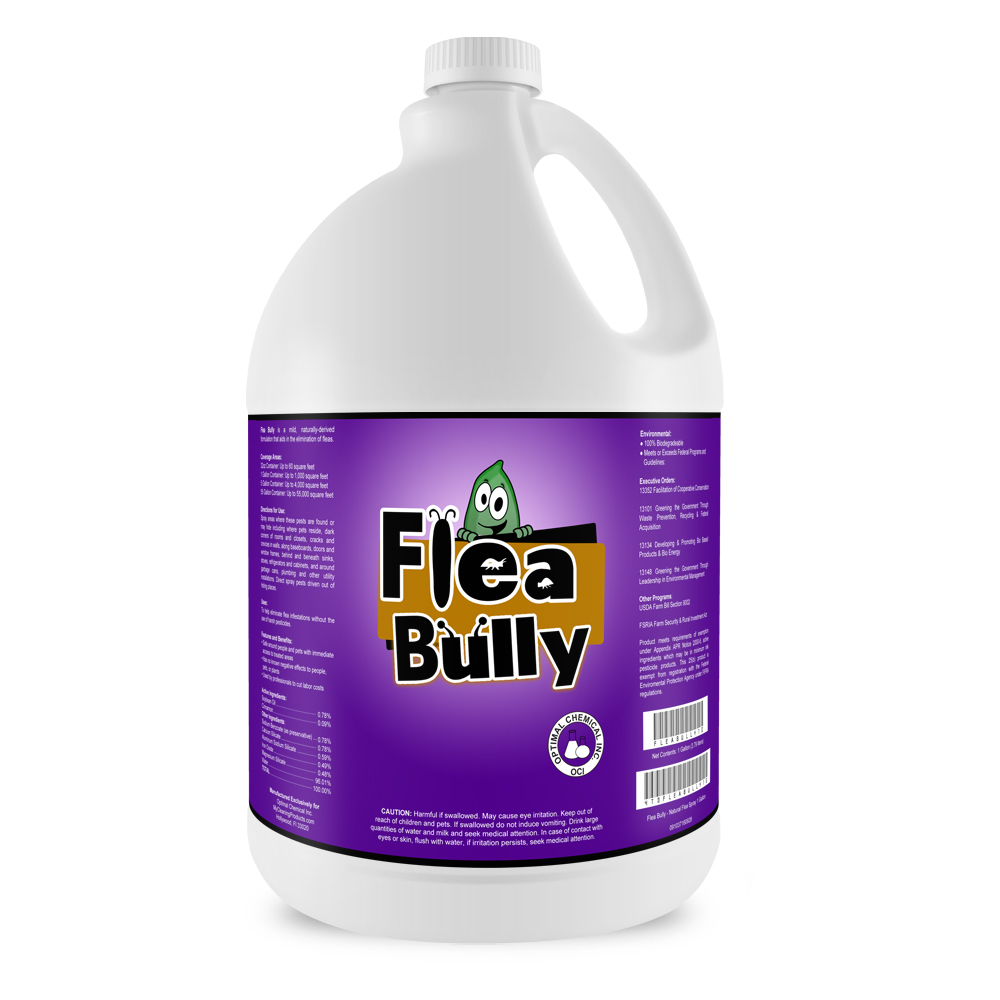 Bed Bug Bully Reviews >> Flea Bully Natural Flea Spray, 1 Gallon