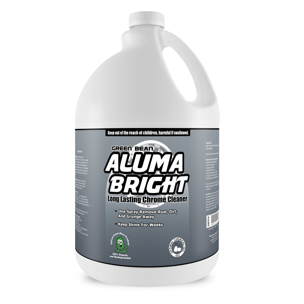 Aluma Bright Rim Chrome And Stainless Steel Cleaner