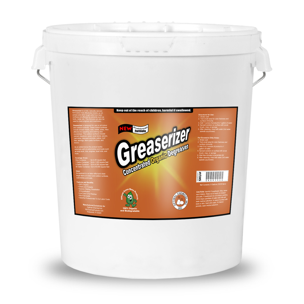 Greaserizer Natural Grease Cleaner 5 Gallon