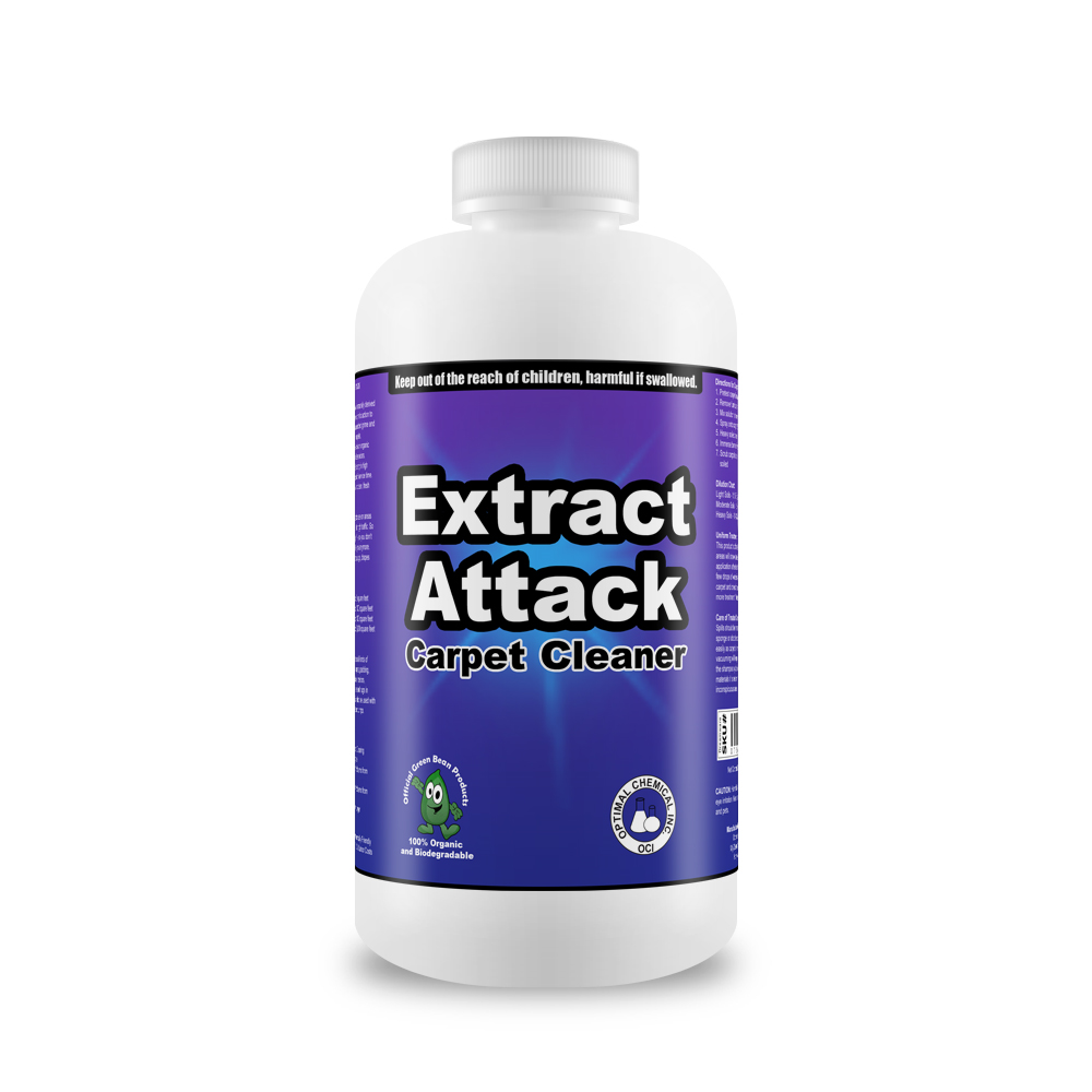 Extract Attack Organic Carpet Cleaner 8 Oz