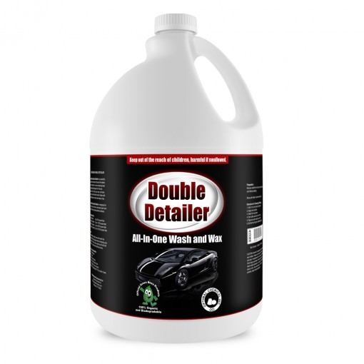 Green Bean Double Detailer Organic Car Soap, 1 Gallon