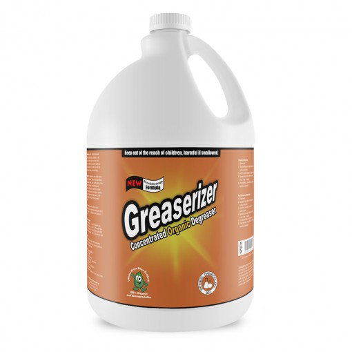 Greaserizer Natural Grease Cleaner, 1 Gallon