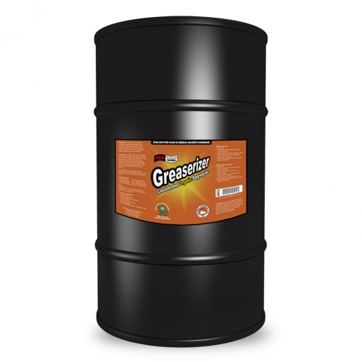 Greaserizer Natural Grease Cleaner, 55 Gallon
