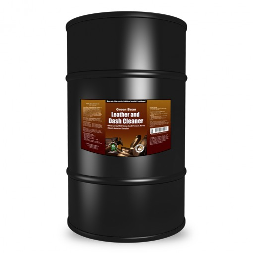 Leather and Dash Cleaner - Green Leather Conditioner, 55 Gallon
