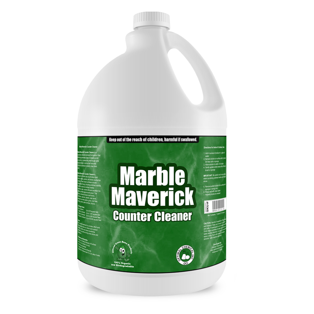Marble Maverick Non Toxic Counter Cleaner, 1 Gallon