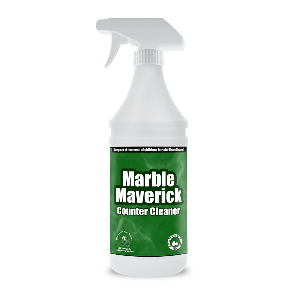 Marble Maverick Non Toxic Marble Counter Cleaner 32 Oz