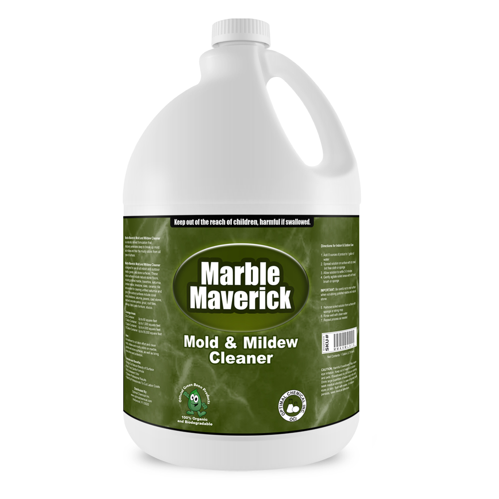 Marble Maverick Non Toxic Mold and Mildew Cleaner, 1 Gallon