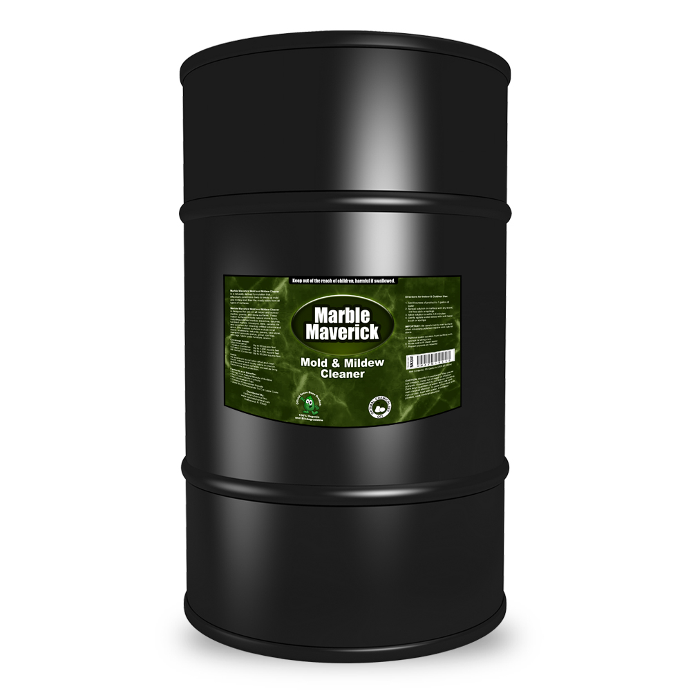 Marble Maverick Non Toxic Mold and Mildew Cleaner, 55 Gallon