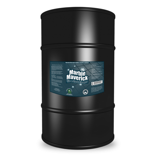 Marble Maverick Organic Tile and Grout Cleaner, 55 Gallon