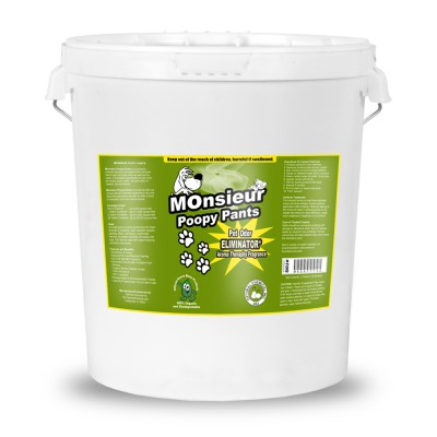 Monsieur Poopy Pants Natural Pet Odor Remover, 5 Gallon