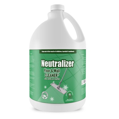 Neutralizer Counter and Floor Cleaner, 1 Gallon