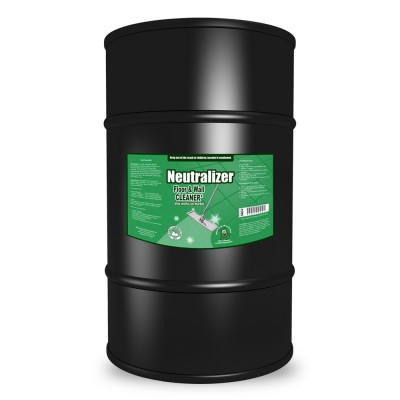 Neutralizer Counter and Floor Cleaner, 55 Gallon