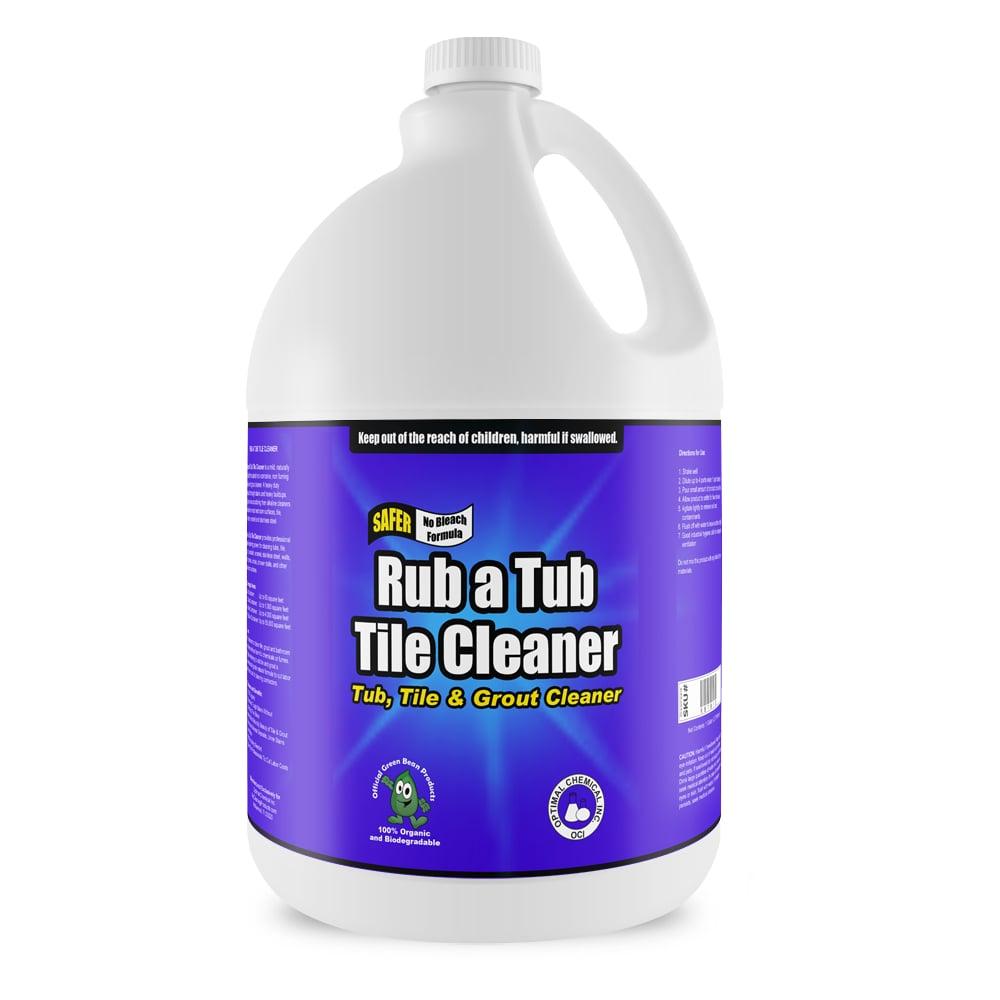 Rub A Tub Tile Cleaner Non Toxic 1 Gallon
