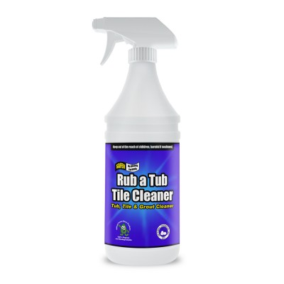 Rub a Tub Tile Cleaner Non-Toxic & Safe, 32 Oz
