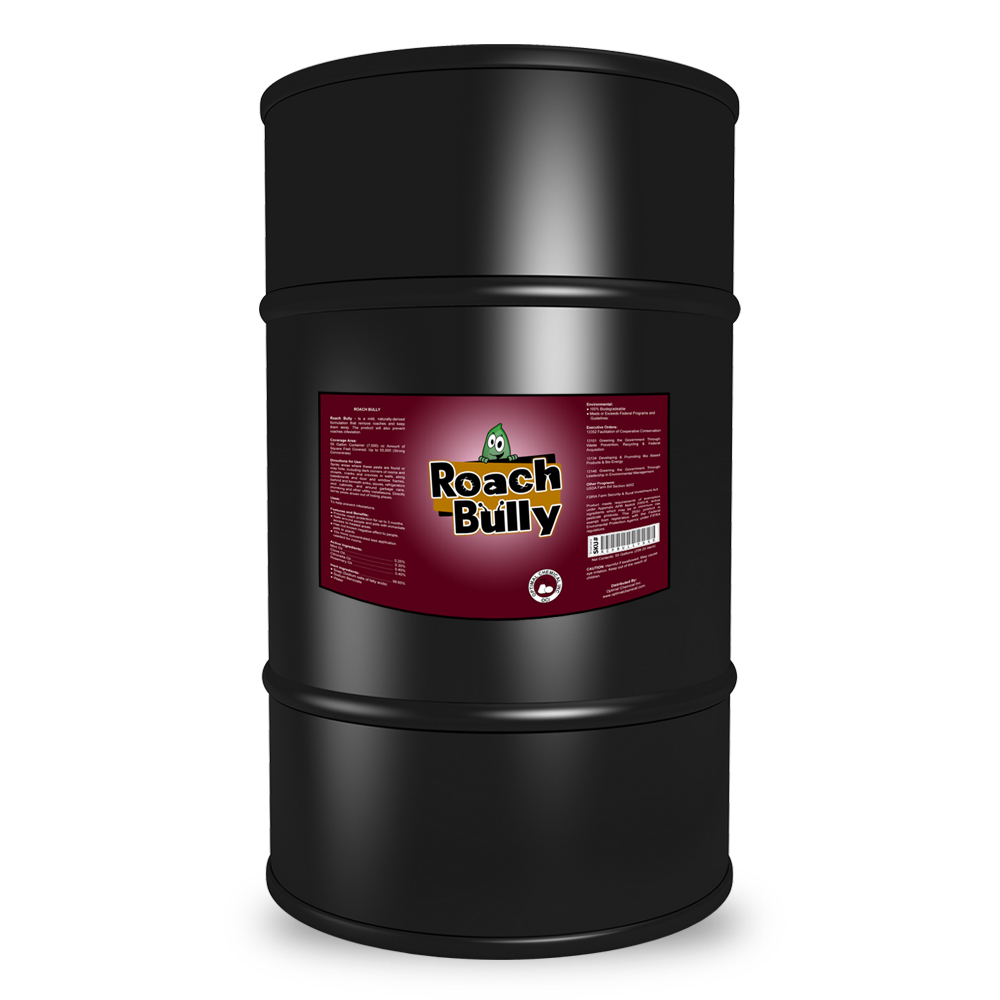 Roach Bully Natural Cockroach Spray, 55 Gallon