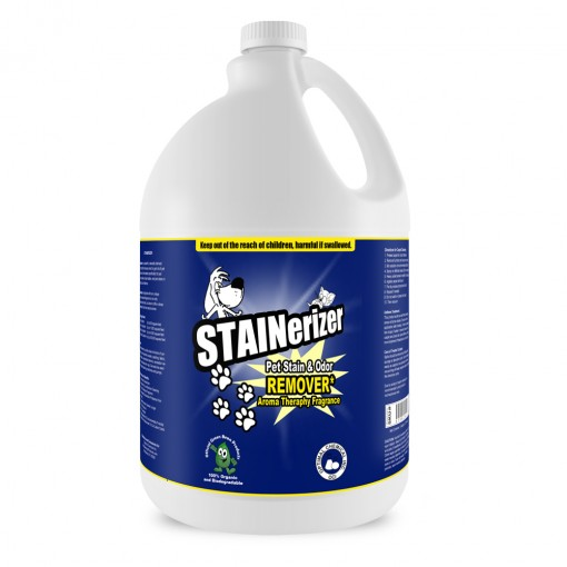 Stainerizer Non-Toxic Pet Stain and Odor Remover, 1 Gallon