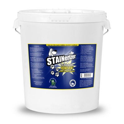 Stainerizer Non-Toxic Pet Stain and Odor Remover, 5 Gallon