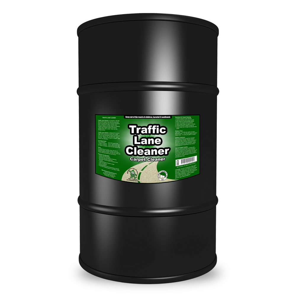 Traffic Lane Cleaner Non-Toxic Carpet Cleaner, 55 Gallon