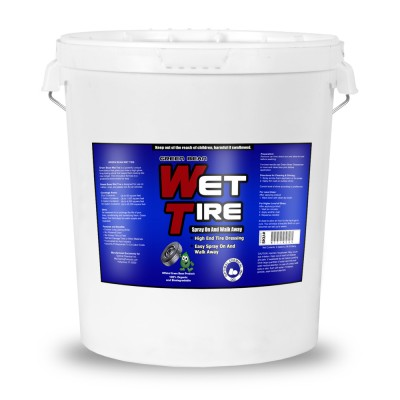 Green Bean Wet TIre Non-Toxic Tire Shine and Gloss, 5 Gallon