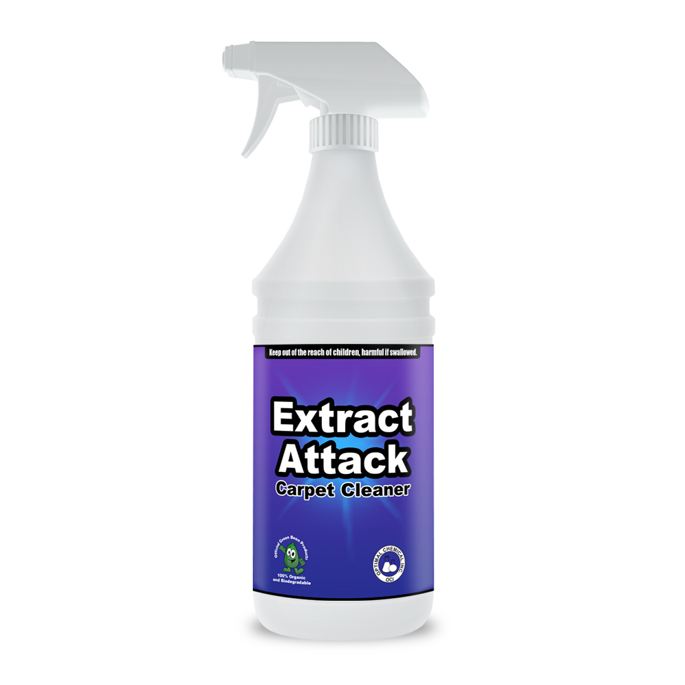 Extract Attack Organic Carpet Cleaner, 32 Oz