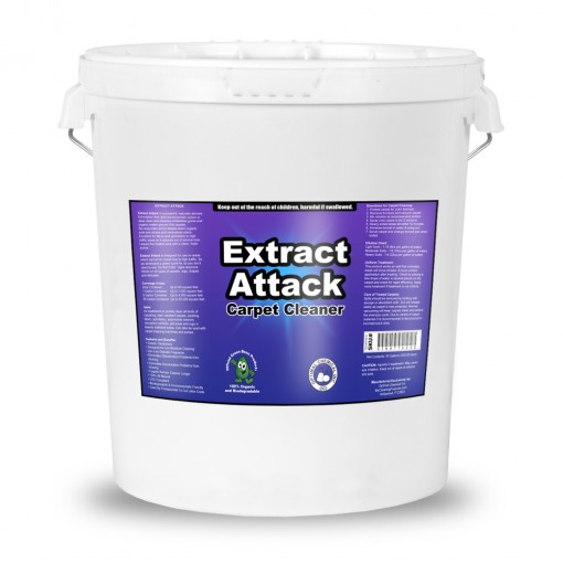 Extract Attack Organic Carpet Cleaner, 5 Gallon