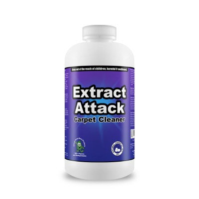 Extract Attack Organic Carpet Cleaner, 8 Oz